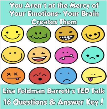 TED Talk: You Aren't at the Mercy of Your Emotions- Your Brain Creates Them