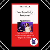 TED Talk by Lera Boroditsky - Discussion Questions - English & Spanish