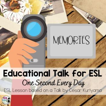 ESL Lesson for TED Talk - One Second Every Day