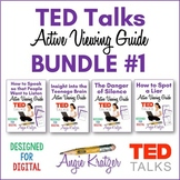 TED Talks Active Viewing Guide BUNDLE #1 (PDF and Google Slides)