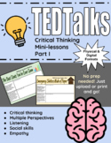 TED Talks: Critical Thinking Minilessons Part I