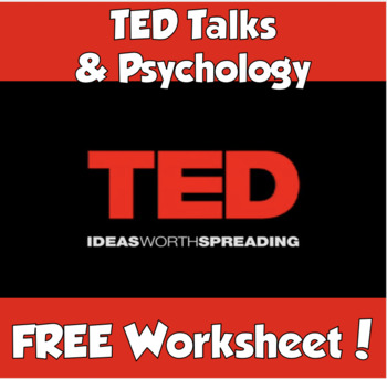 TED Talks & Psychology (DISTANCE LEARNING)