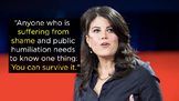 TED Talks The Price of Shame by Monica Lewinsky Video Ques