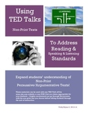 TED Talks for Informational Speaking/Listening & Reading Skills