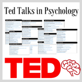 TED Talks for Psychology - Talks for all Topics and Studen