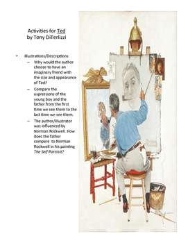 TED by Tony DiTerlizzi Teaching Literary Skills with Picture Books