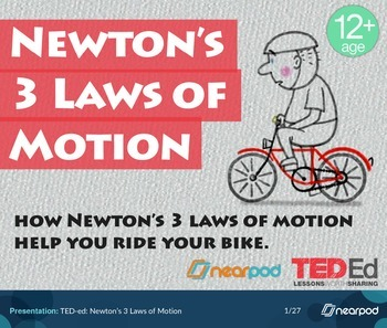 TED-ed: Newton's 3 Laws of Motion
