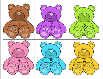 TEDDY BEAR COUNT POCKET CHART ACTIVITY