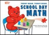 TEDDY BEAR TEDDY BEAR SCHOOL DAY MATH hard cover 3