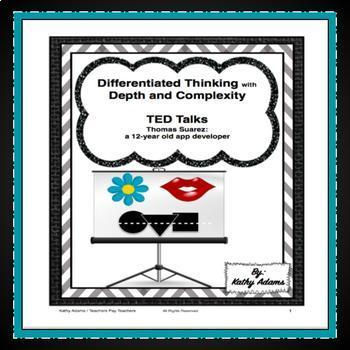 TED Talk (Thomas Suarez: a 12 year-old app developer)