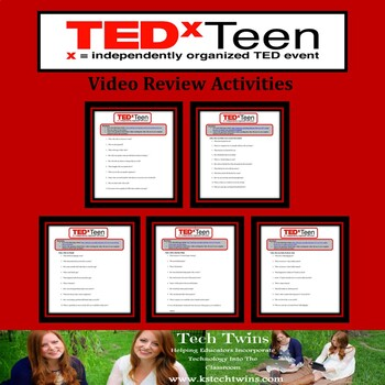 TEDxTeen Talk Activities