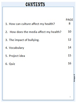 TEEN HEALTH, What Influences Health?