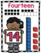 TEEN NUMBER Book and Posters - Math Center - Kindergarten Worksheets