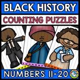 TEEN NUMBER KINDERGARTEN BLACK HISTORY MONTH ACTIVITY (FEBRUARY MORNING WORK)