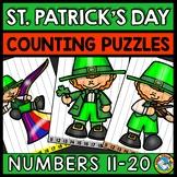 TEEN NUMBER KINDERGARTEN ST PATRICKS DAY ACTIVITY MATH (MA