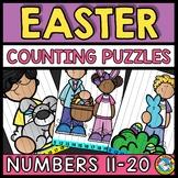 TEEN NUMBERS CENTER EASTER ACTIVITY KINDERGARTEN MATH (APR