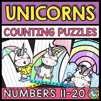 TEEN NUMBERS KINDERGARTEN 11-20 EASTER MATH ACTIVITY (APRIL MORNING WORK)