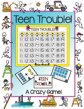TEEN TROUBLE!!!  A Crazy Game!