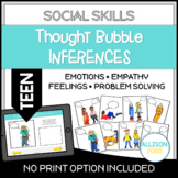 TEEN Thought Bubble Inferences Picture Cards