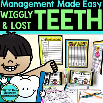 TEETH: Lost Tooth Certificates, Graphing Activities, a Cla