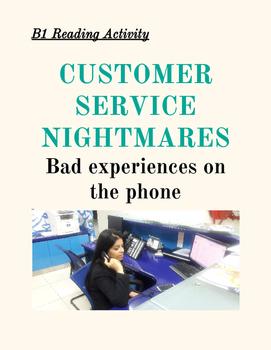 TEFL B1 READING Telephone Service (Good for IELTS)