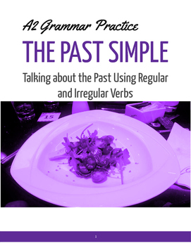 TEFL/TESOL/ELA GRAMMAR The Past Simple
