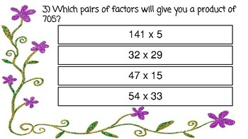 TEI 4th Grade Math SOL Task Cards: Computation and Estimation