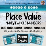 TEI  DIGITAL Practice PLACE VALUE 9-DIGIT WHOLE NUMBERS