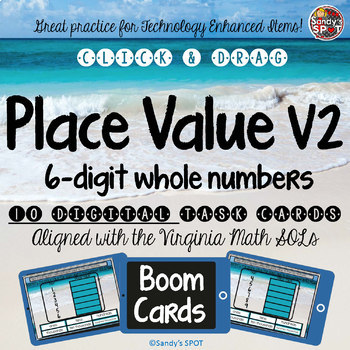 TEI  DIGITAL Practice PLACE VALUE Version 2 6 DIGIT WHOLE NUMBERS
