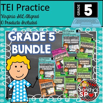 TEI GRADE 5 BUNDLE Virgina SOL Aligned