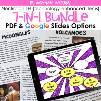 TEI Nonfiction Passage Practice SCOOT Bundle