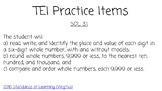 TEI Practice Place Value Comparing Ordering VA SOL 3.1 Goo