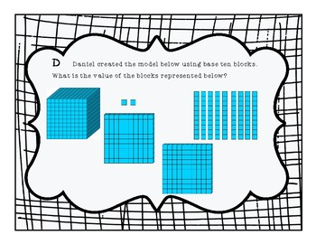 TEK 3.2A Composing and Decomposing Numbers up to 100,000 Task Cards