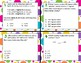 TEK 3.4A - Addition & Subtraction 1 & 2 Step Problems Task Cards