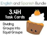 TEK: 3.4H - Dividing Groups into Equal Shares - ENGLISH AN