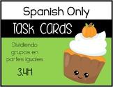 TEK: 3.4H - Dividir grupos en partes iguales  - SPANISH ONLY
