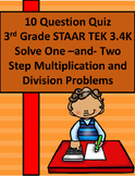 3.4K Rigorous Quiz of Multi-Step Multiplication & Division Word Problems