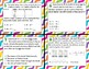 TEK 3.5A Models, Number Lines, & Equations Task Cards