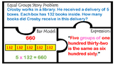 TEK 4.4D Multiplication 2 & 3 digit factors  Word Problems Bar Models 4.C 4.4H