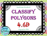 TEK 4.6D Classify Polygons task cards