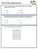 TEK 5.2C Rounding Decimals | STAAR Practice | Distance Learning | TEK Mastery