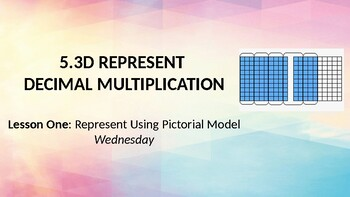 TEK 5.3D Represent and Solve Decimal Multiplication