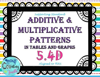 Additive And Multiplicative Patterns Worksheets & Teaching Resources ...
