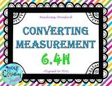 TEK 6.4H Converting Measurement task cards