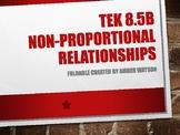 TEK 8.5B Non-Proportional Foldable