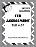 TEK Assessment 4.3A - Represent a Fraction as a Sum (Unit Fractions)