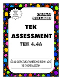 TEK Assessment 4.4A - Add and Subtract Whole Numbers and Decimals