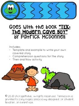 TEK: The Modern Cave Kid Writing