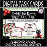 TEKS 2.5A, 2.5B / Digital Task Cards / Coins & Their Value