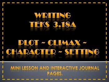 TEKS 3.18A Writing